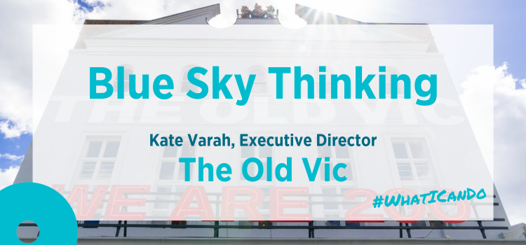 Blue Sky Thinking   The Old Vic